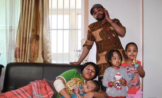 The Enyioko family. PHOTO: News1