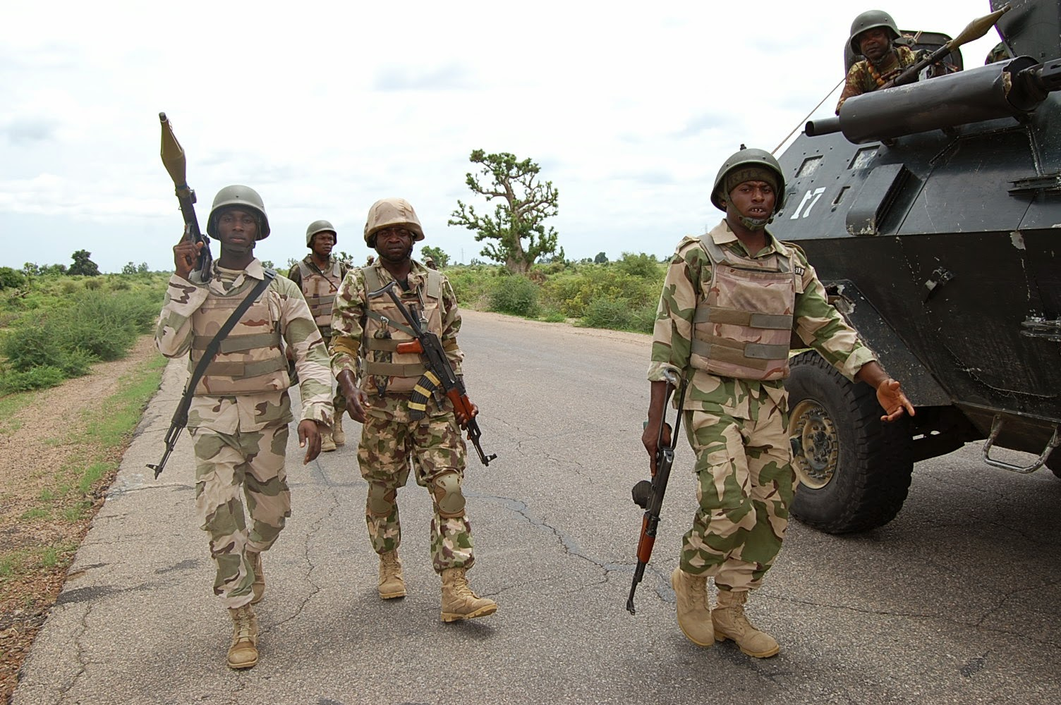 Troops with Their Navy Counterparts Put up Fight to Repel Boko Haram Attack