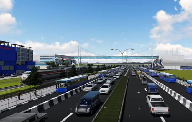 New Oshodi Terminus as being Developed by the Lagos State Government