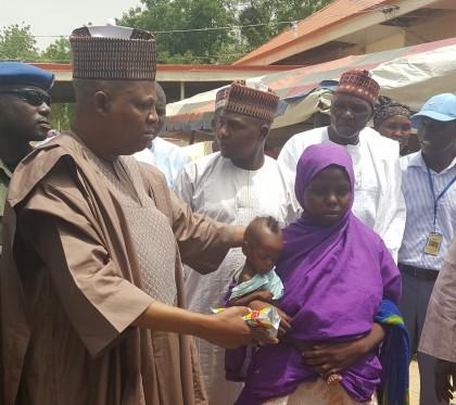 Kashim Shettima Governor Borno State