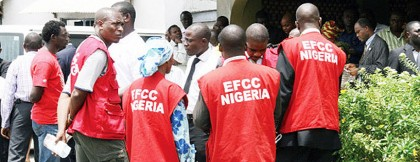 Team of EFCC Officials at Federal High Court Abuja