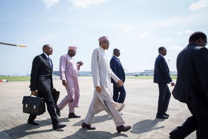 President Buhari on Trip to London