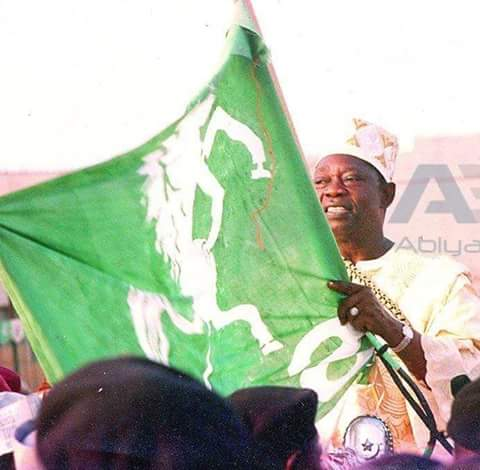 MKO Abiola at the SDP Political Rally(PHOTO: National Archive)