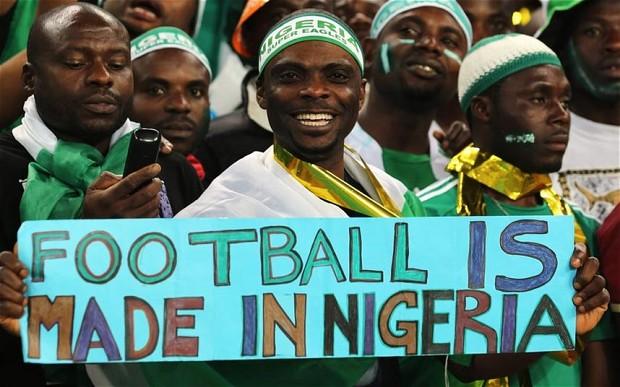 Nigeria's Supporters Club(PHOTO: Reporters365)