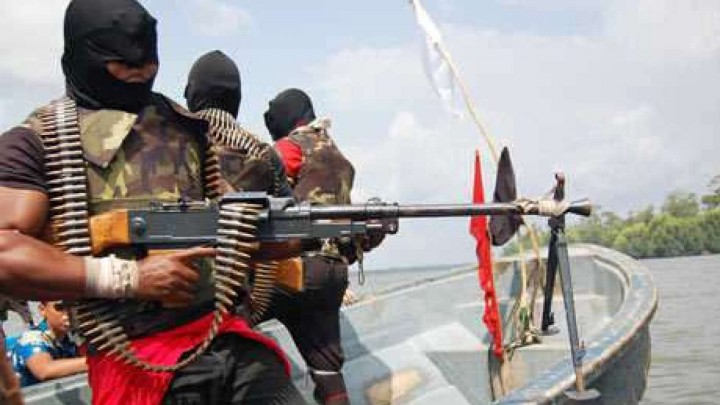 Niger Delta Militants, this is not necessarily of Niger Delta Avengers(PHOTO: BlogWatch)