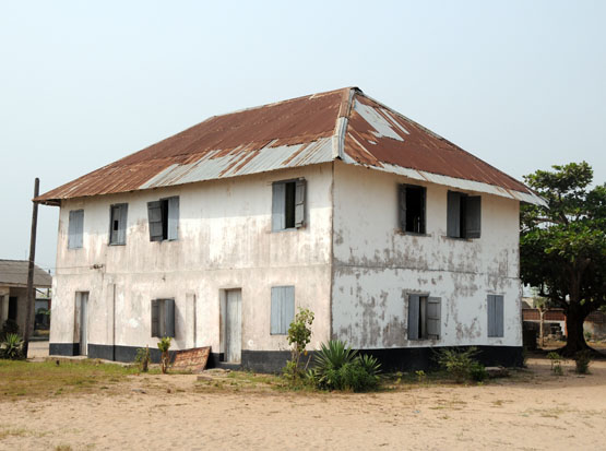 Nigeria's First Storey Building, built in Badagry in 1842