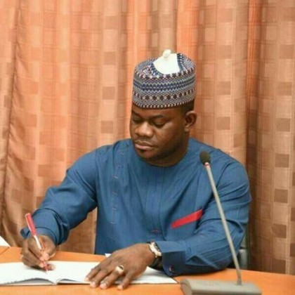 Yahaya Bello  Kogi State Governor