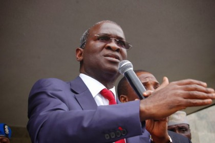 Raji Fashola Minister of PWH