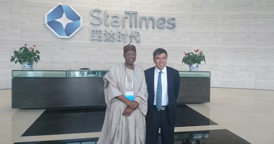 In China, Minister Visits StarTimes Headquarters, Hails Company's Partnership With NTA