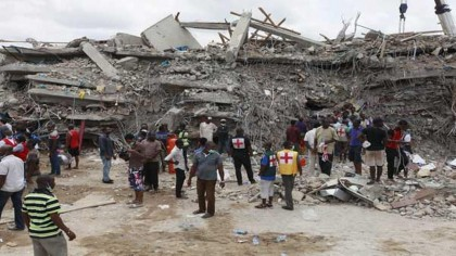Synagogue Building Collapse In Lagos