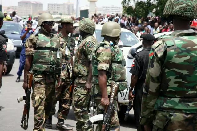 Nigerian Army(PHOTO: StreetTVNews)