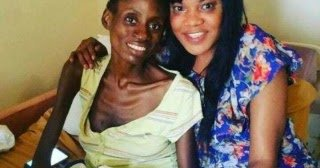 Toyin and Mayowa in the LUTH ward(PHOTO: Unknown)