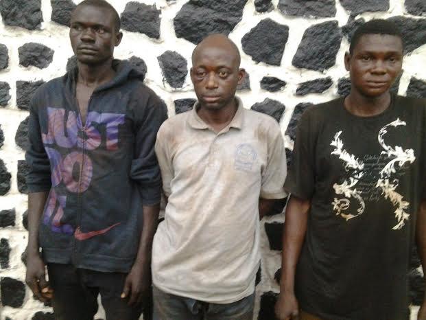 L-R: Ojonimi Negedu, Awodi Ezekiel, Micheal Sule