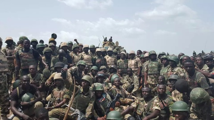 Sambisa forest operations