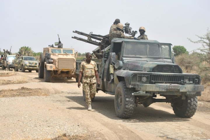 Nigerian Army Shock unit in North-east in the fight against Boko Haram