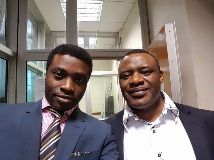Alistair Soyode (Founder and Chairman of Ben TV) and Mr Charles Efe Sylvester