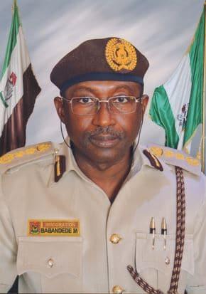 Muhammed Babandede MFR, CG Nigeria Immigration Service