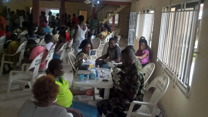 Medical and free HIV, Lassa fever lecture ongoing in Delta state
