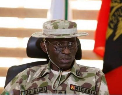 Major General Lucky Irabor. Phot Credit: REUTERS/Afolabi Sotunde