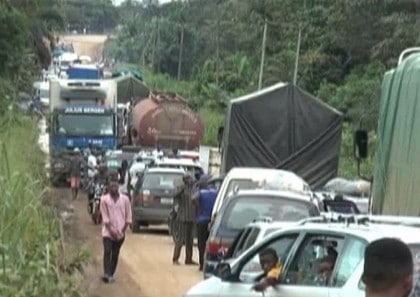 Deplorable Condition Of Calabar/ Ikom Fed. Highway , Cross River State