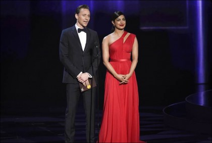 Tom Hiddleston and Priyanka Chopra
