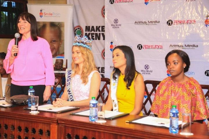L-R: Julia Morley, Mireia Lalaguna, Maria Harfanti, Idah Nguma