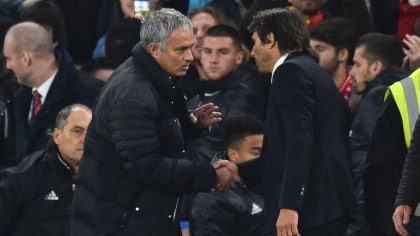 Mourinho irked by Conte's celebration