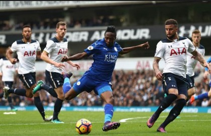 Ahmed Musa Rescues Leicester City, Frustrates Tottenham