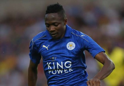 #EPL; Ahmed Musa scores, Arsenal draw