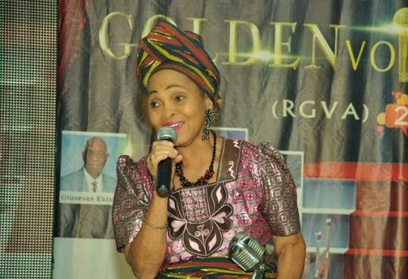 Buhari Felicitates With First African Female Television Personality