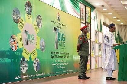 President Buhari Unveils Petroleum Industry Road Map