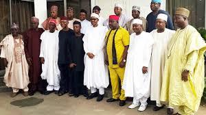Buhari and Governors