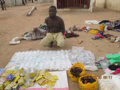 Nigerian Army Clampdown On Terrorists Drugs Supplier
