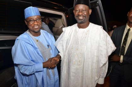 GMD NNPC and Gombe State Governor