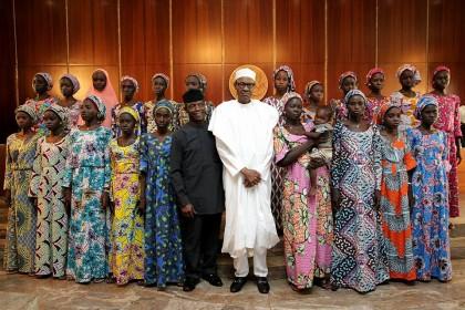 Chibok-Girls-President-Buhari