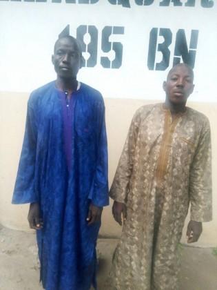 suspects-Boko haram-maupiduguri-mafa