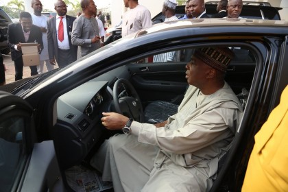 Patronize Made-in-Nigeria Vehicle, Saraki Urges Dealers