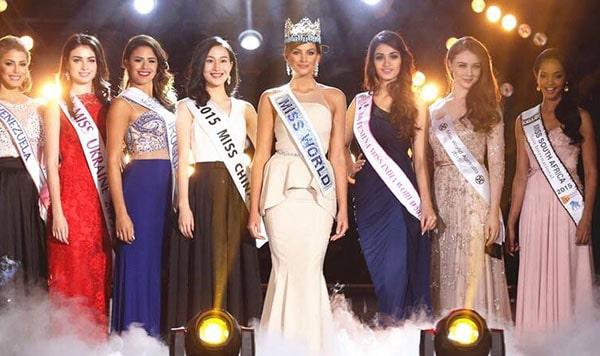 Miss World2015 Winner - Mireia LalagunaofSpain