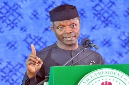 800 Herdsmen Now In Custody In Nigeria – Osinbajo