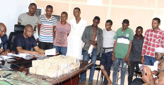 police-suspect-parade-arrest-kidnap-cbn-governor-godwin-emeifele
