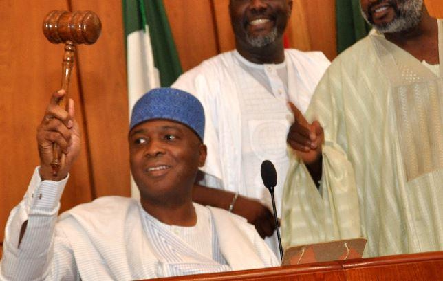senate-president-celebrates-lauds-release-chibok-girls-bukola-saraki