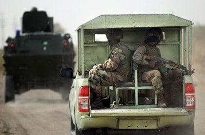 Troops Foil Suicide Attack At Maiduguri IDP Camp