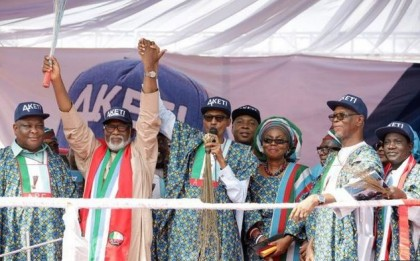 President Buhari Rallies Support for Ondo APC Aspirant, Chief Akeredolu