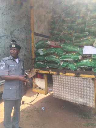 Nigeria Customs Impounds Prohibited Goods, Arrest 18 Suspects