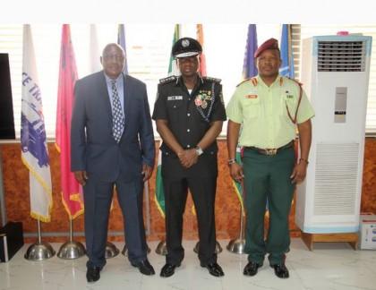Botswana, Burkinabe High Commissioner Visit IGP Idris
