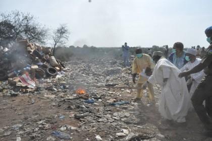 Gov. Al-Makura and NAFDAC Destroys Illicit and Counterfeit Drugs In Lafia Worth Millions