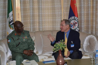 Nigeria Ukraine To Strengthen Military Relation