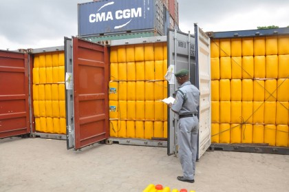 Tincan Island Port Uncovers 20 Containers of 25KG Vegetable Oil Falsely Declared As AS Disodium Phosphate