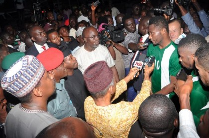 """""""We Are Going To The World Cup"""" VP Osinbajo To Super Eagles"""