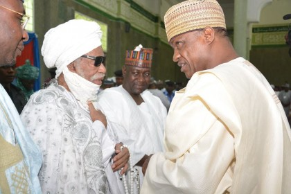Gov. Gaidam, Sultan, Others Speak on Peace and Scholarship